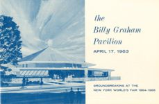 Brochure Cover with Pavilion