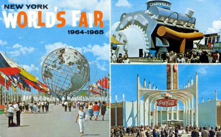 "Card # DT-89958-B /""Shea Stadium/"" 1964 NYWF Postcard"